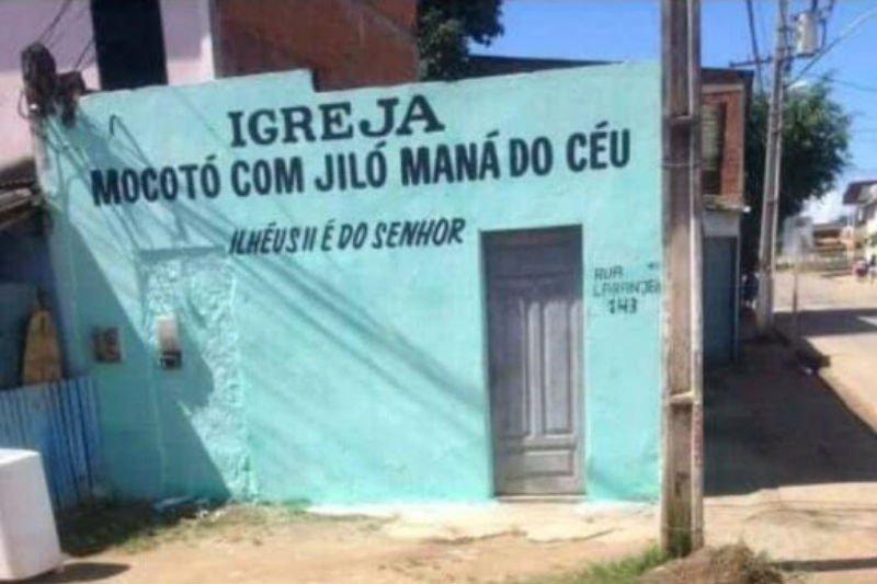 Nomes Esquisitos e Engraçados de Igrejas Evangélicas no Brasil