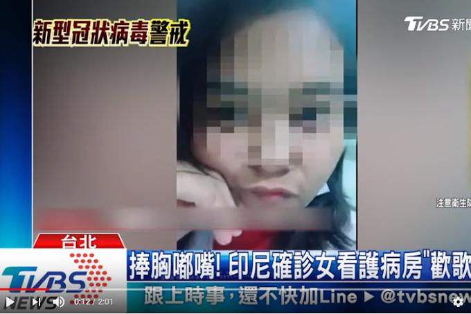 Viral WNI Terinfeksi Virus Corona Main Tik Tok di Rumah Sakit Taiwan