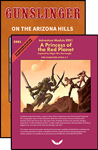 Princess of the Red Planet Adventure