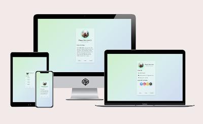 Share Template Profile - Giới Thiệu Bản Thân Version 5.0