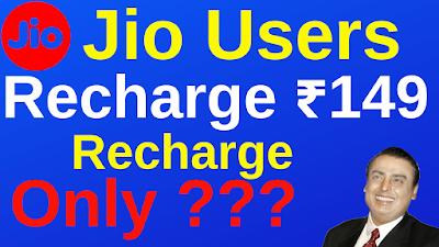 jio 149 recharge free