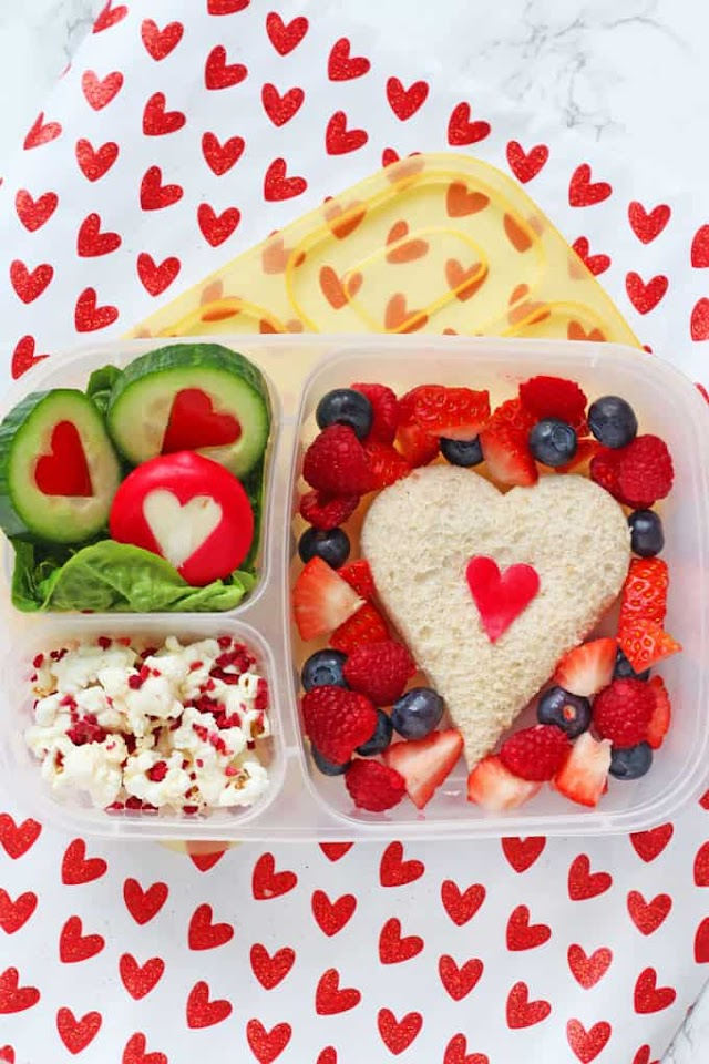 Valentine's Day Lunch for Kids