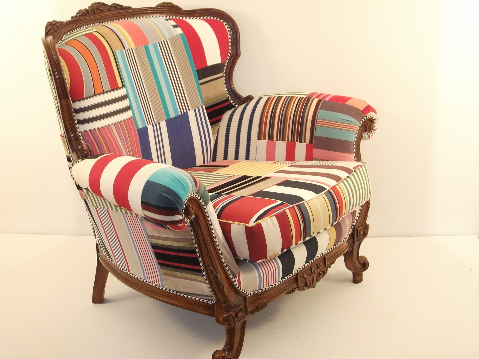 Patchwork Upholstered Chair Inspirations on Pinterest ...