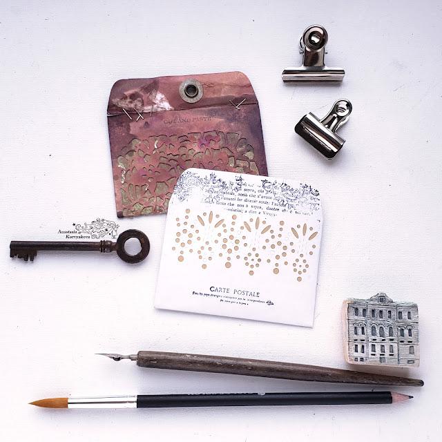 @nastyalena #papercrafting #envelope #mimicut