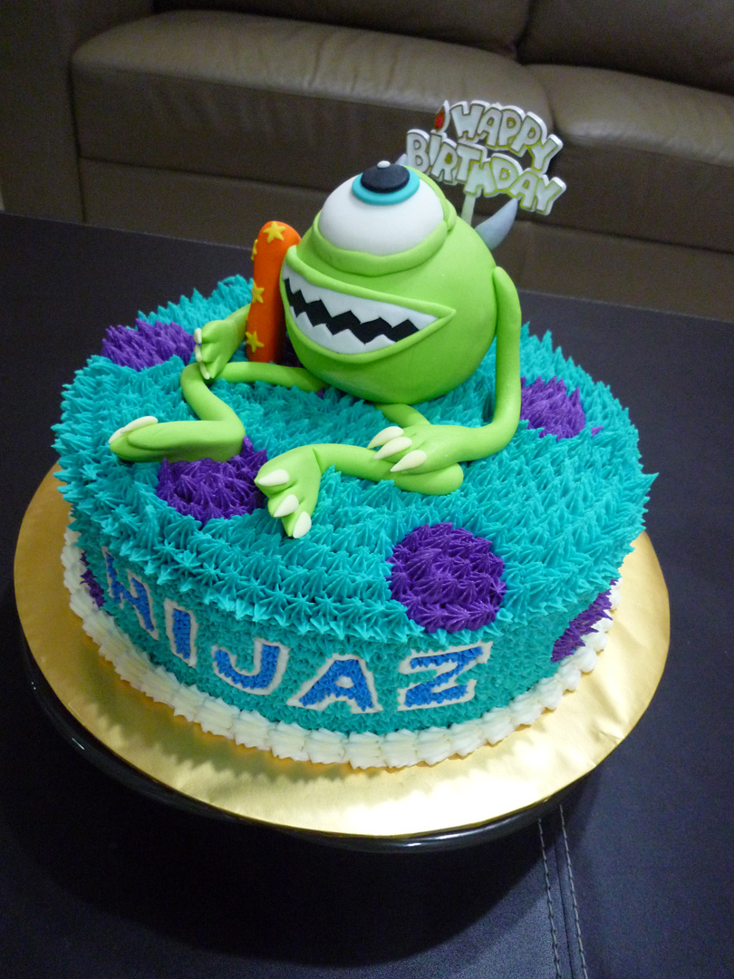 Gg Home Biz Cakes Amp Wedding Cakes Monsters University