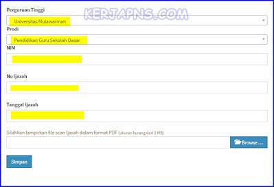 cara verval ijazah di info gtk untuk guru sertifikasi