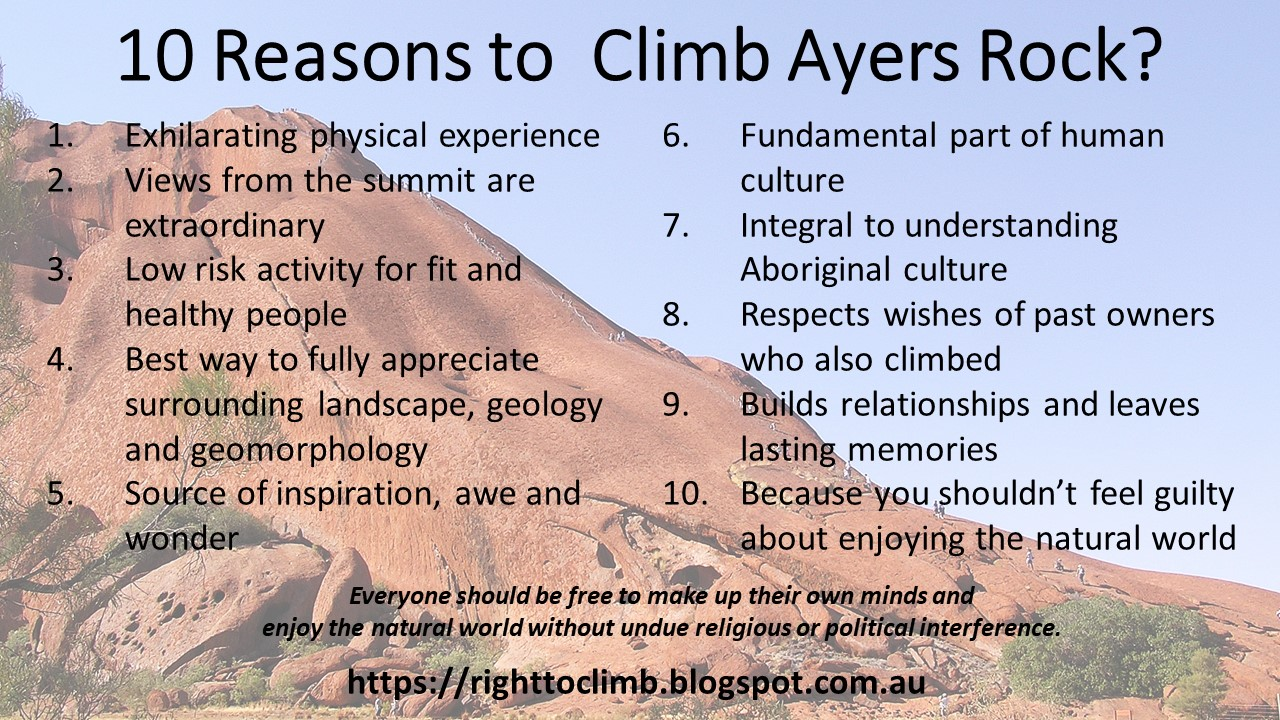 10 Reasons to climb Ayers Rock Uluru