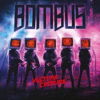 """Το βίντεο των Bombus για το """"In The Shadows"""" από το album """"Vulture Culture"""""""