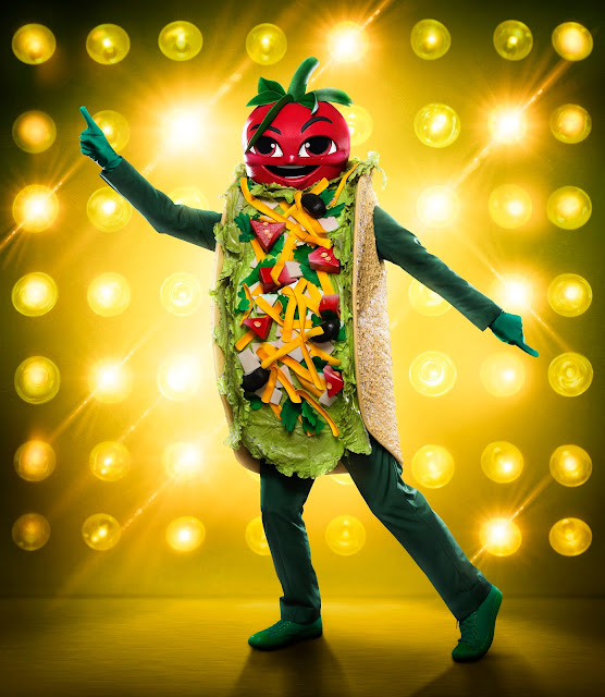 The Taco was the latest celebrity to go home on the Masked Singer. Photo: FOX