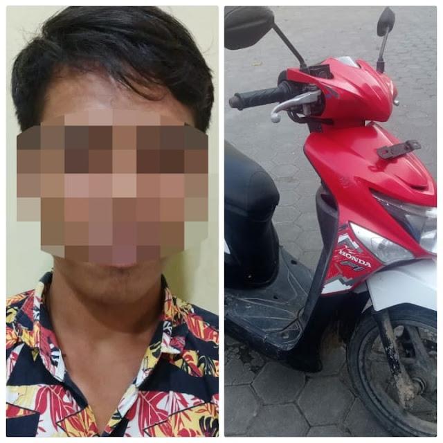 Polisi Tangkap Seorang Pemuda Diduga Memiliki Motor Hasil Curian