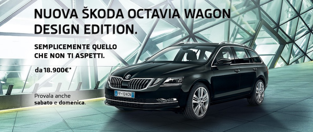 Nuova Skoda Octavia Design Edition