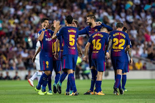 موعد مباراة برشلونة وانتر ميلان الأربعاء 02-10-2019في دوري أبطال أوروبا