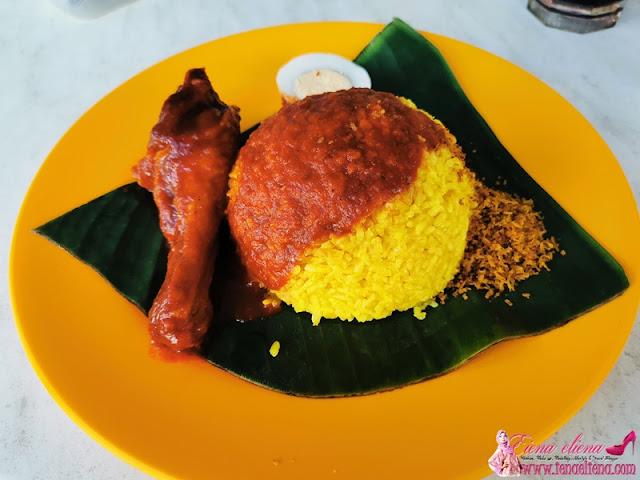 Nasi Kuning Banjar, Inanam Capital, Kota Kinabalu, Sabah