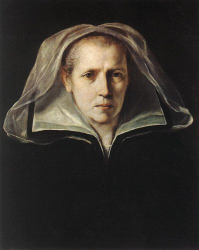 Guido Reni, Portrait of the Artist's Mother, 1612