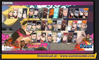 Download Naruto Senki Bo Ren Biography V1.70 Mod by Chiyan