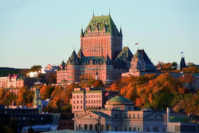 Chatêau Frontenac em Quebec