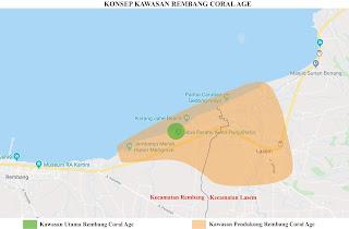 Konsep Kawasan Rembang Coral Age