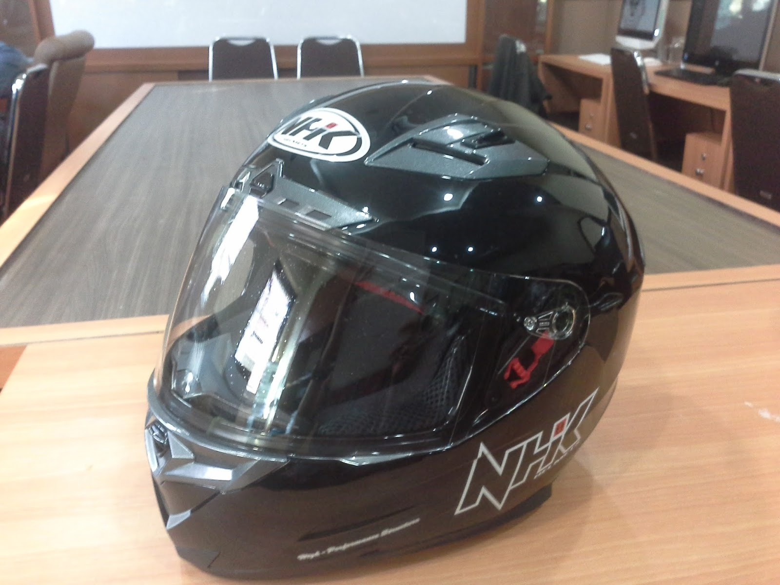 English NHK RX9 Helmet Review