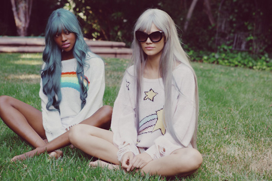 Granny Fashion from Wildfox Couture's new beautiful shoot.
