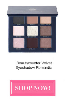 beautycounter velvet eyeshadow romantic