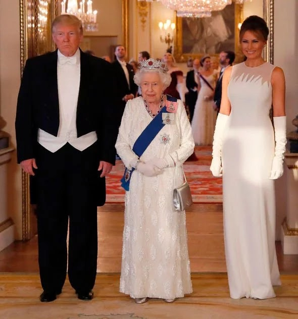 Melania Trump stuns at state dinner with Donald Trump