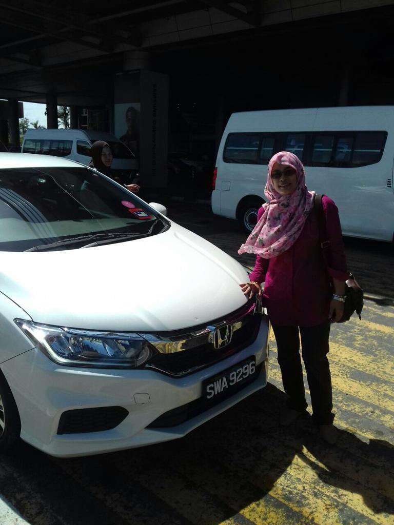 sewa kereta honda city di kk Sabah