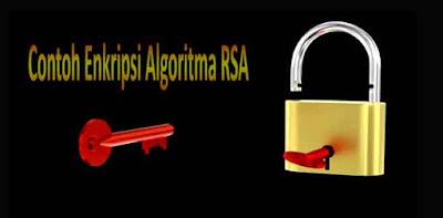 Contoh Enkripsi Algoritma RSA