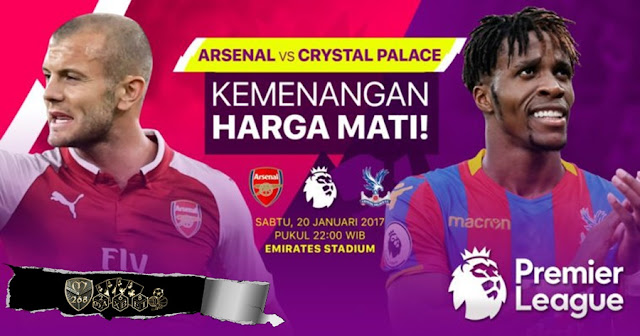 Prediksi Bola Arsenal Vs Crystal Palace , Sabtu 20 January 2018 Pukul 22.00 WIB