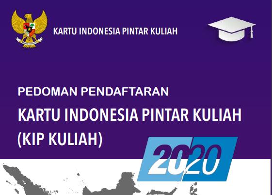 Pedoman Pendaftaran KIP Kuliah 2020