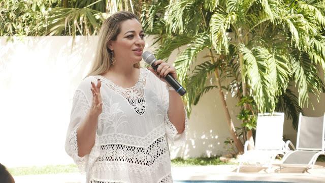 Naomi Peniche se compromete a impulsar en el Congreso de Yucatán la Agenda Rosa