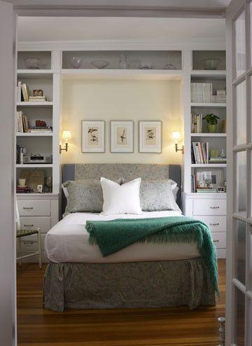 30 غرف نوم صغيرة كيفية ترتيب غرف النوم الصغيرة والديكور المناسب لها