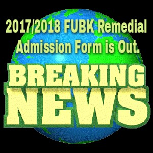 Image of  FUBK Remedial Admission Form