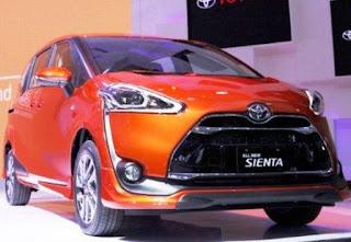 Kredit Toyota Sienta 2018