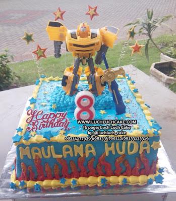 Kue Transformer Untuk Ulang Tahun