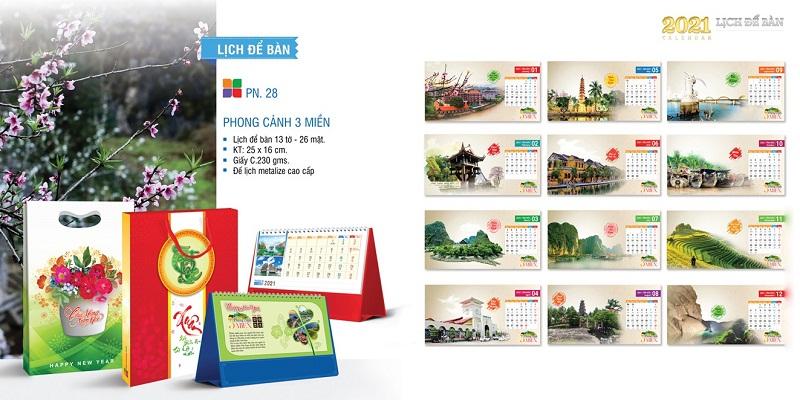 in lịch tết giá rẻ tại Đà Nẵng