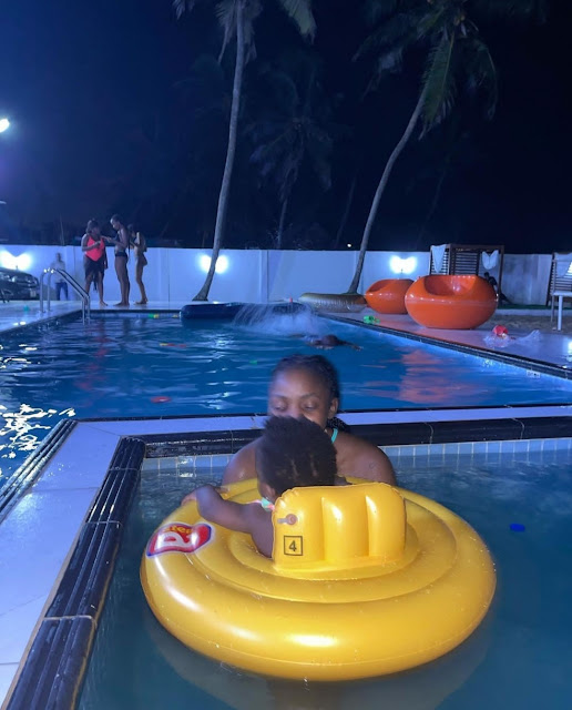 Singer Simi Turns 33 years old as she shows off her pool party (Video/Pictures)
