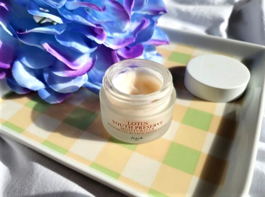 Fresh Lotus Face Cream.