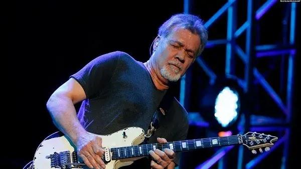 Gitaris legendaris Eddie Van Halen Tutup Usia