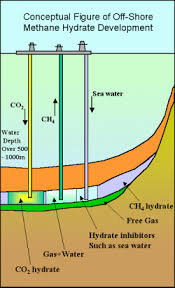 Methane Hydrate (Gas hidrat metan)