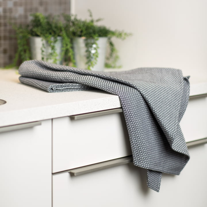 Szary ręcznik kuchenny