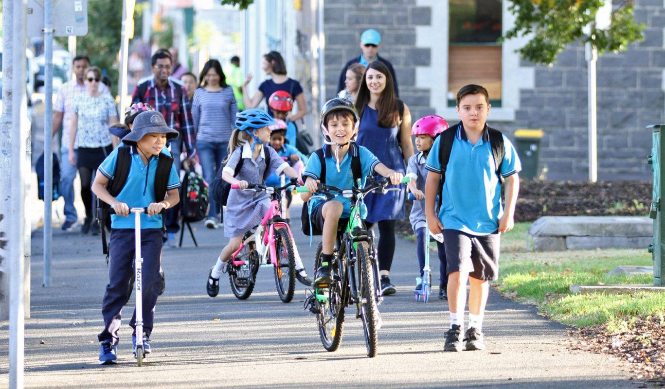 National Walk and Bike to School Day Wishes
