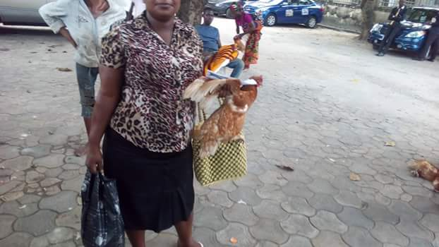 David Ibiyeomie's Wife Lavish Widows In Salvation Ministries With Xmas Gifts