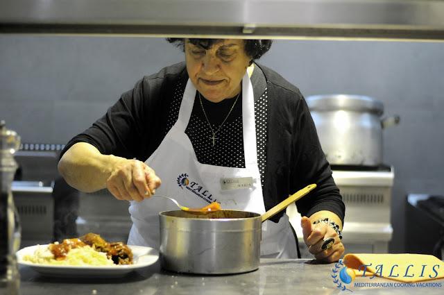 Chef Kiria Maria Sofos Nemea