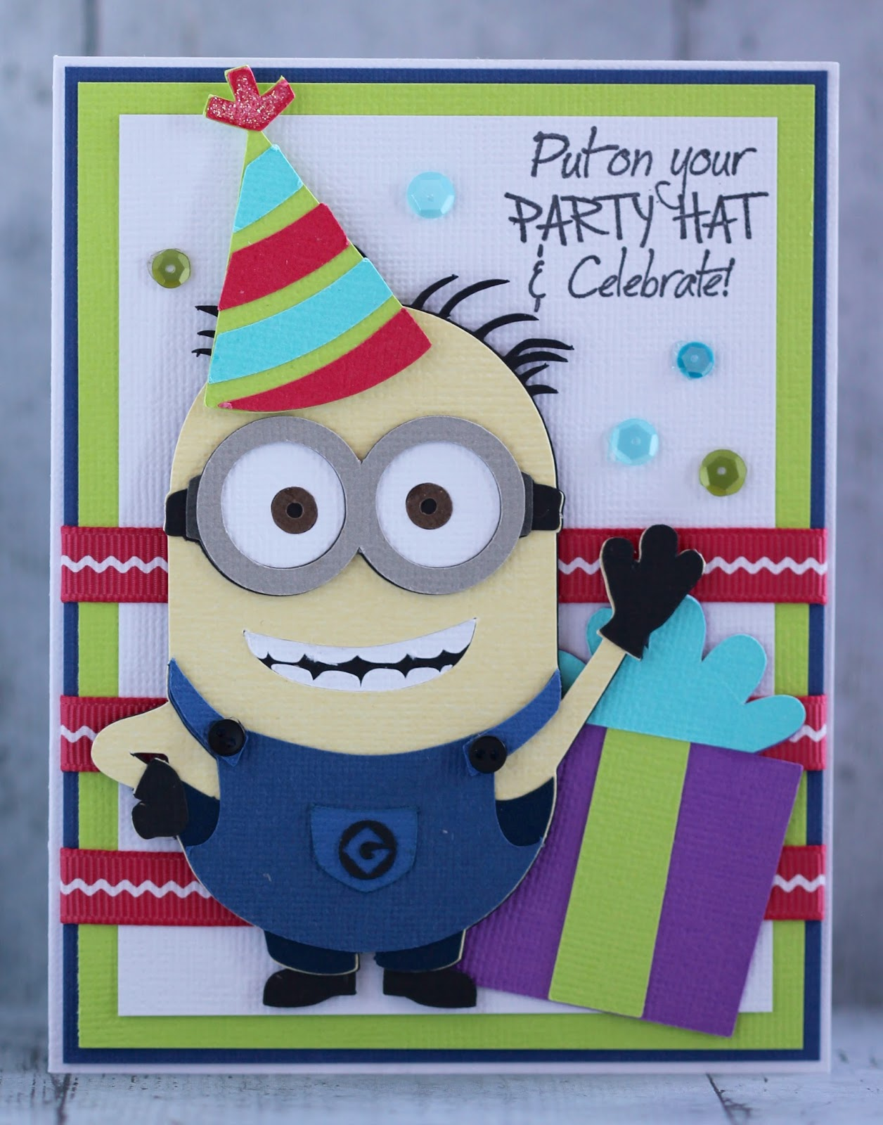 this and that minion birthday card