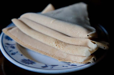 Injera bread is a classic African bread recipe
