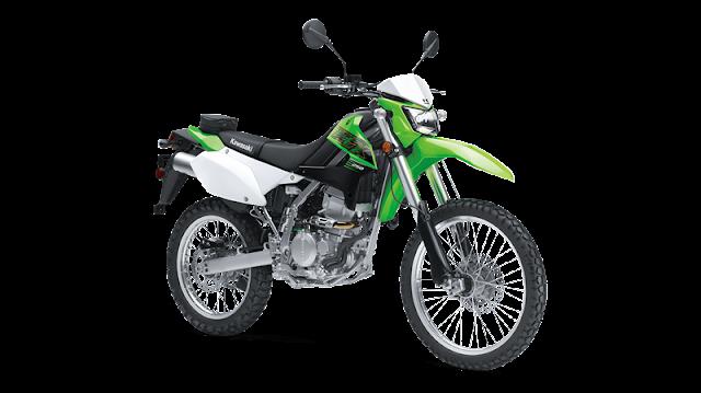 Letak Nomor Rangka dan Nomor Mesin Kawasaki KLX 250