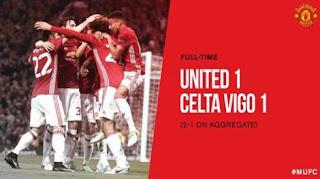 Video Gol Manchester United vs Celta Vigo 1-1 Liga Europa