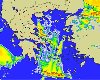 1 - Πρόγνωση Ελλάδας-Θεσσαλίας 21-23/1/2020 Βοριάδες, παγετός και ηλιοφάνεια