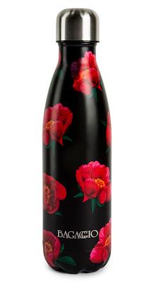 garrafa térmica Bagaggio com estampa floral