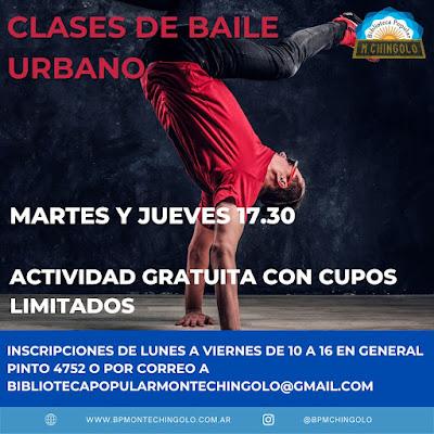 La Biblioteca Popular Monte Chingolo abre clases gratuitas de Yoga y Bailes Urbanos